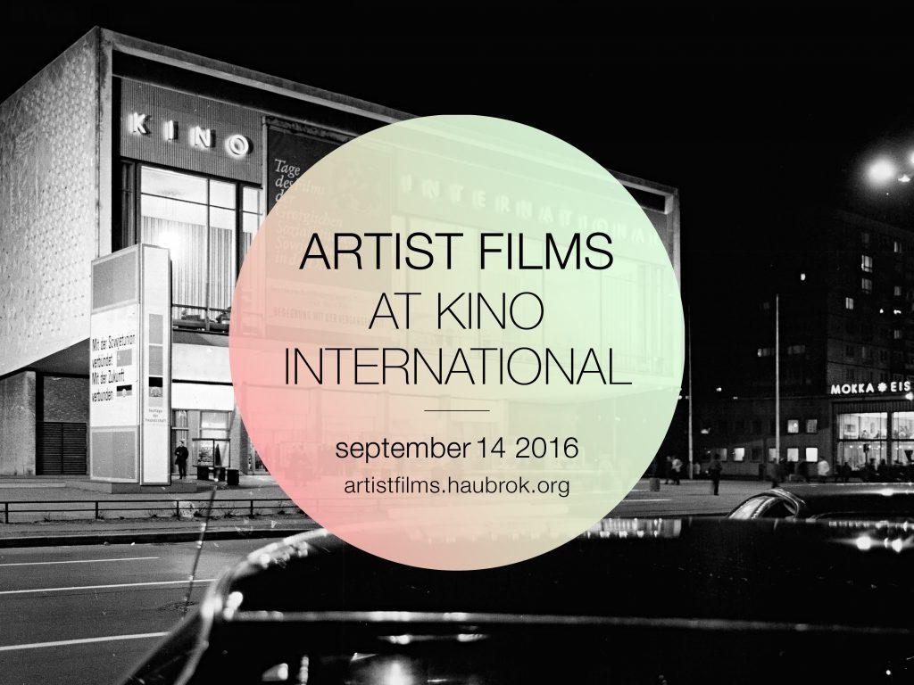 Artist Films 2016